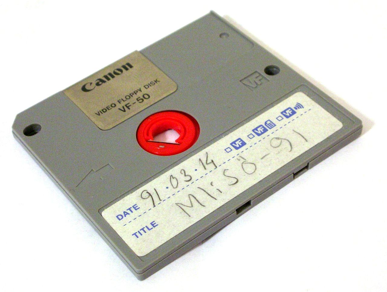 Video Floppy Disk