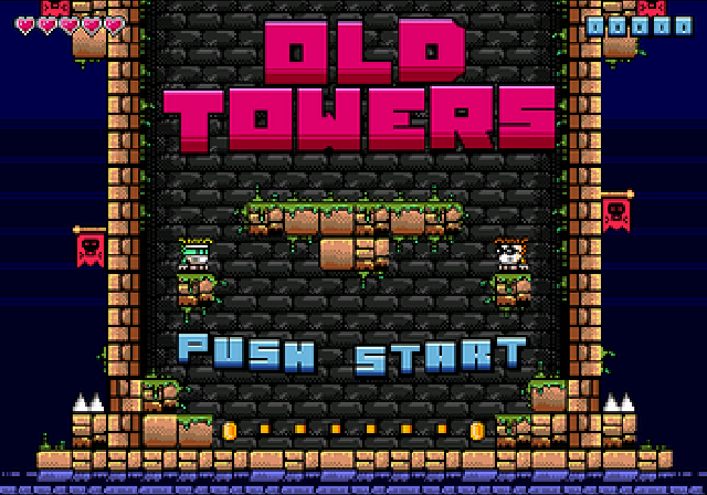 Old Towers (Retro Souls)