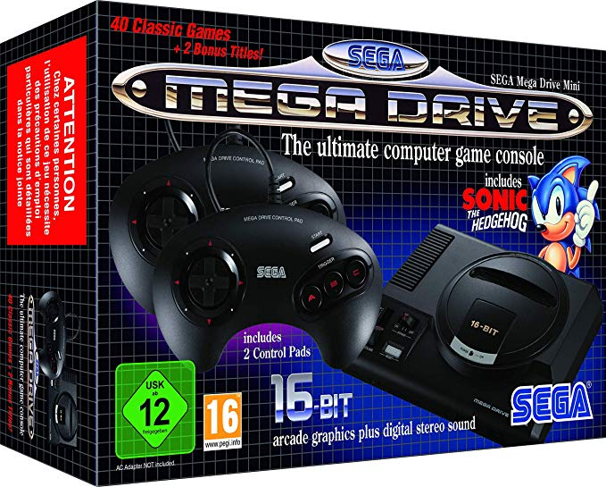 Mega Drive MINI Europeo